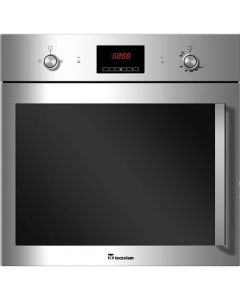 60 cm Gas Oven with Electric Grill and Turbo Stainless Steel