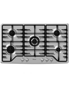 90 cm Gas Cooktop Flat With 5 Burners