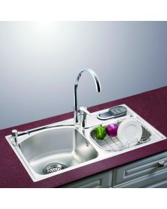 "32"" Drop In Double Bowl Stainless Steel Sink"