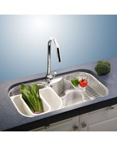 "32 ½"" Undermount Single Bowl Stainless Steel Sink"