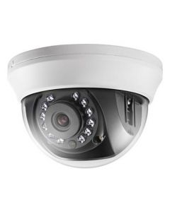 Analog Dome Camera: 1mp, HD 720P, 20m IR distance, smartIR, indoor (2.8mm)