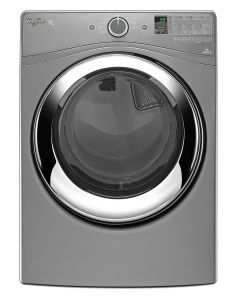 Front Load Gas Dryer - 18 kg. - Gray Chrome
