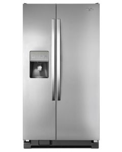 Side by Side 25 pc Refrigerator