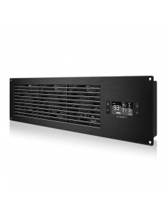 """AIRFRAME T9-N, Black (PRO) - 22"""" In. Fan, Filter, LCD Ther. Con"""