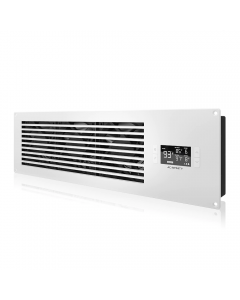 """AIRFRAME T9, White (PRO) - 22"""" Int. Fan, Filter, LCD Ther. Con"""