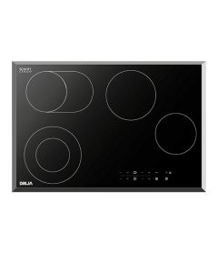 77 cm 4-Element Electric Cooktop (w/ 2 expandable elements)