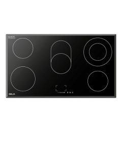 90 cm 5-Element Electric Cooktop (w/ 2 expandable elements)