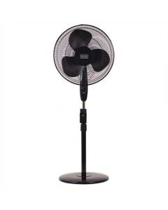 16 In. Stand Fan with Remote, Black