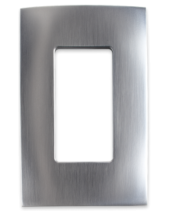 Faceplate - 1 Gang - Stainless Steel