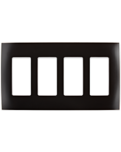 Faceplate - 4 Gang - Venetian Bronze
