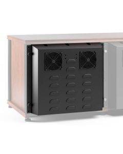 AV Furniture Accessories - Extended Rear Panel With Active Cooling