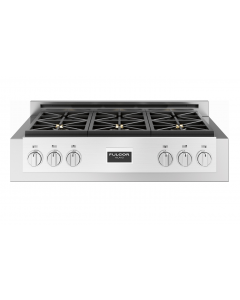 36'' Professional Gas Range Top