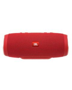 JBL Charge 3 Full-featured waterproof portable speaker with high-capacity battery to charge your devices (Red)
