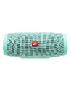 JBL Charge 3 Full-featured waterproof portable speaker with high-capacity battery to charge your devices (Teal)