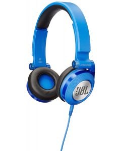 High-Performance On-Ear Headphones with JBL Pure Bass and DJ-Pivot Ear Cup, Blue