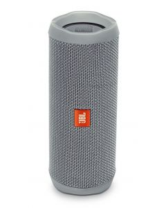 JBL Flip 4 A full-featured waterproof portable Bluetooth speaker with surprisingly powerful sound (Grey)