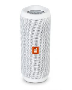 JBL Flip 4 A full-featured waterproof portable Bluetooth speaker with surprisingly powerful sound (White)