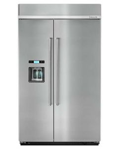 29.5 cu. ft 48-Inch Width Built-In Side by Side Refrigerator with PrintShield Finish