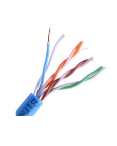 Wirepath™ sin blindaje 350 MHz 24/4 .50mm sólido Cat 5e cable - nido de 1000 pies en cuadro