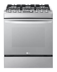 6 Burners with ample space