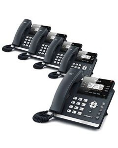 3-Line Corded VoIP Phone (5-Pack)