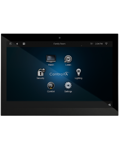 "Control4 T3 Series 10"" In-Wall Touch Screen (Black)"