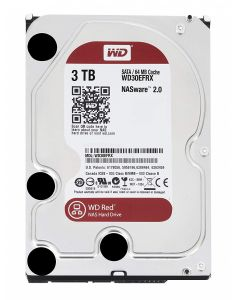 WD Red 3TB NAS Hard Disk Drive - 5400 RPM Class SATA 6 Gb/s 64MB Cache 3.5 Inch