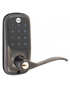 Non-US Yale Lever Touch Screen - Zigbee (Oil Rubbed Bronze)
