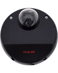 Indoor 2-Megapixel 30 FPS Mini-Dome IP Camera RJ-45 (Black)