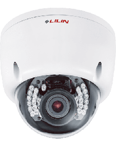 Outdoor 3-Megapixel 15 FPS Vandal Dome IR IP Varifocal Camera