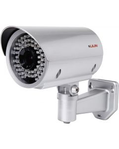 Outdoor Pro-Series Vari-focal Bullet Camera with 150ft IR & On-Board Intelligent Video Surveillance