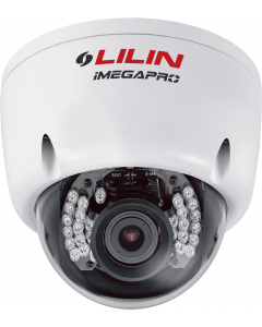 2-Megapixel (1080p) 15FPS Varifocal Outdoor Vandal Resistant Dome IP Camera with Night Vision