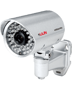 2-Megapixel (1080p) 15FPS Vari-Focal Outdoor Bullet IP Camera with Night Vision