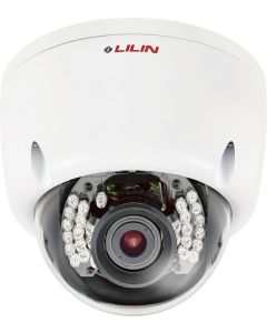 Outdoor Z-Series Auto-Focus Vandal Dome Camera w/ 80ft IR & On-Board Intelligent Video Surveillance