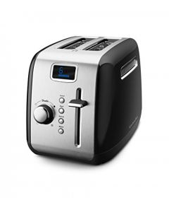 2-Slice Toaster with Manual High-Lift Lever and Digital Display2-Slice Toaster with Manual High-Lift Lever and Digital Display