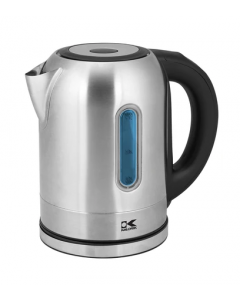 Kalorik Stainless Steel Color Changing LED Electric Kettle
