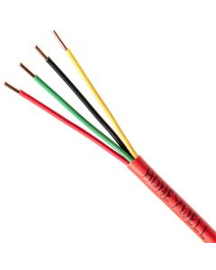 Genesis Series 18 AWG Unshielded Untwisted Fire Alarm Cable with 4 Unpaired Conductors