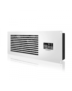 """AIRFRAME T7, White - 16.5"""" Exhaust Fan, Filter, LCD Ther. Con"""