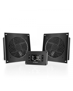 """AIRPLATE T8 (PRO) - Two 6"""" Single Fans /w Therm. Con."""