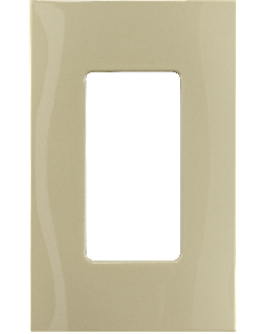Faceplate - 1 Gang - Ivory