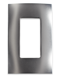 Faceplate - 1 Gang - Satin Nickel