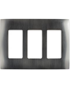 Faceplate - 3 Gang - Stainless Steel