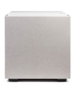 """10"""" Subwoofer With Dual 10"""" Bass Radiators (White)"""