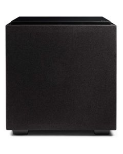 """15"""" Powered Subwoofer with two 15"""" passive radiators (Black)"""
