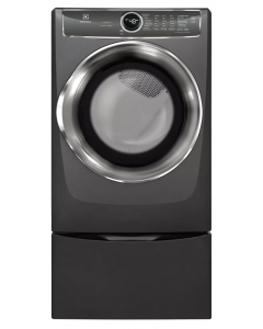 8.0. Cu. Ft. Front Load Perfect Steam™ Electric Dryer with PredictiveDry™ and Instant Refresh
