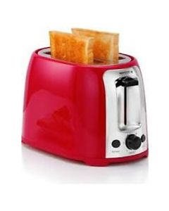 Holstein Housewares 2-Slice Toaster - Red