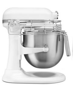 NSF Certified Commercial Series 8 Quart Bowl-Lift Stand Mixer with Stainless Steel Bowl Guard