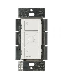 Lutron Caseta Wireless Electronic Low Voltage In-Wall Dimmer, White