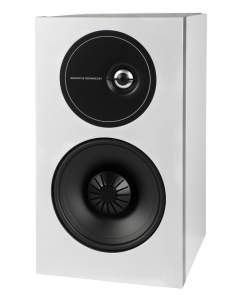 Demand Series D9 High-Performance Bookshelf Speakers (White)