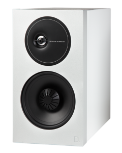 Demand Series D11 High-Performance Bookshelf Speakers White
